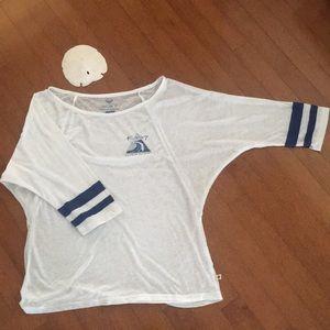 🌊ROXY Baseball Tee💙